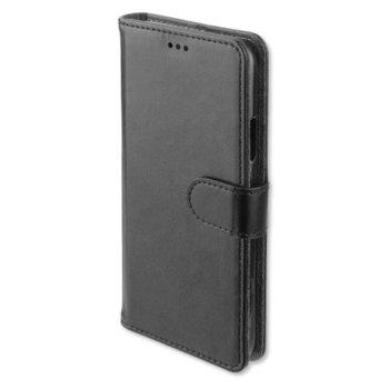 Калъф за Apple iPhone 11, тип портфейл, еко кожа, 4Smarts Wallet Urban 4S467510, черен image