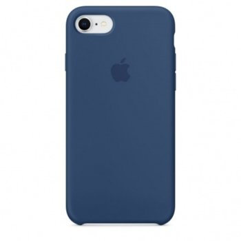 Apple iPhone 8/7 Silicone Case Blue Cobalt product