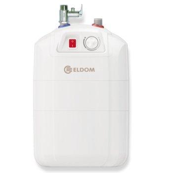 Електрически бойлер Елдом 72325PMP 10L, под мивка, мощност 2kW, енергиен клас B image