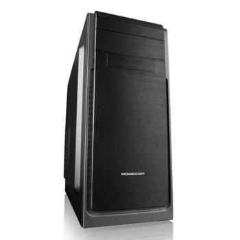 Кутия Modecom Harry 3, ATX, 1x USB 3.0/2x USB 2.0, черна, без захранване image