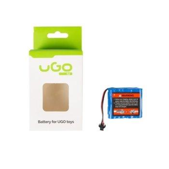 Акумулаторна батерия Li-Polymer uGo URC-1315 за RC car SCORPIO, 500mAh 1бр. image