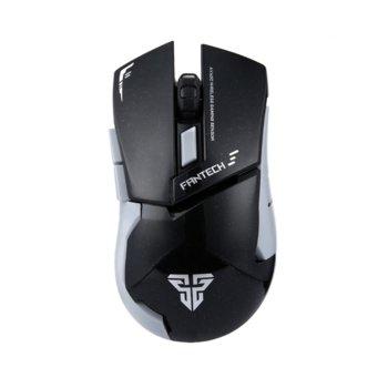 Мишка Fantech Leblanc WG8, 2000 dpi, безжична, USB, черна, гейминг image