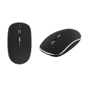 Мишка TnB Power, оптична (1000 dpi), безжична, USB C, черна image