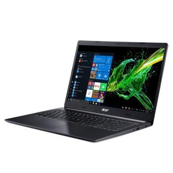 "Лаптоп Acer Aspire 5 A515-54-35XZ (NX.HDJEX.009), двуядрен Whiskey Lake Intel Core i3-8145U 2.1/3.9 GHz, 15.6"" (39.62 cm) Full HD IPS Anti-Glare Display, (HDMI), 8GB DDR4, 1TB HDD, 1x USB 3.0, Linux  image"