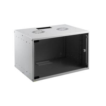 Комуникационен шкаф Mirsan MR.SOH07U30DE.02, 7U, 535 x 300 x 350 mm, D=300 мм, бял image