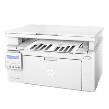 Мултифункционално лазерно устройство HP LaserJet Pro MFP M130nw монохромен лазерен принтер/скенер/копир, 600x600 dpi, 22 стр/мин, Wi-Fi, LAN 10/100, USB image
