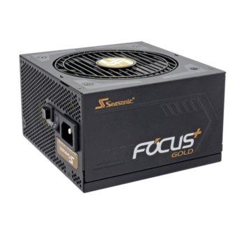 Захранване Seasonic FOCUS Plus, 650W, Active PFC, 80+ Gold, 120мм вентилатор image