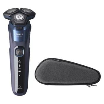Самобръсначка Philips Shaver Series 5000 S5585/30, за сухо и мокро бръснене, до 60 минути време на работа, SteelPrecision ножчета image