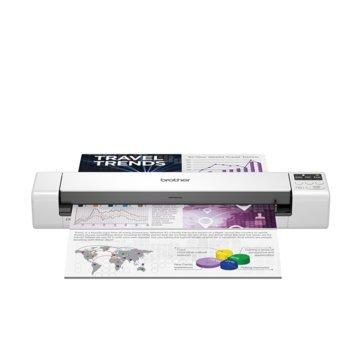 Преносим скенер Brother DS-940DW, 1200 x 1200 dpi, A4, двустранно сканиране, Li-ion батерия, USB, Wi-Fi, бял image