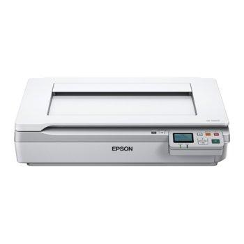 Скенер Epson WorkForce DS-50000N, 600x600dpi, A3, двустранно сканиране, USB, Lan image