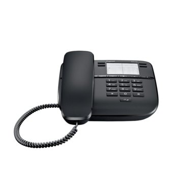 Стационарен Телефон Gigaset DA310, 1 линия, черен image