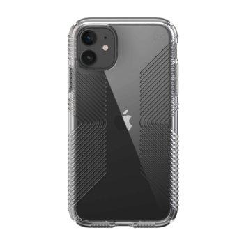 Калъф за Apple Iphone 11, хибриден, Speck Presidio Grip 136495-5085, удароустойчив, прозрачен image