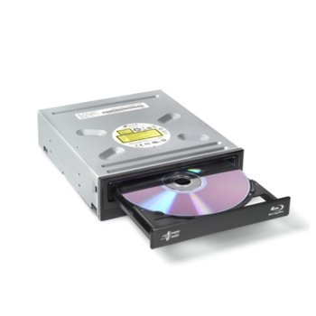 Оптично устройство LG BH16NS55.AHLU10B, Blu-Ray Rewriter, черен, SATA image