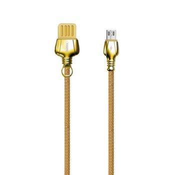 Кабел за данни Remax King RC-063m, от USB A (м) към Micro USB (м), размер на кабела 1.0м, различни цветове image