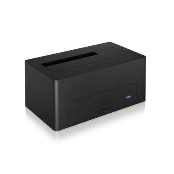 """Външна докинг станция до 3.5"""" (8.89 cm) Raidsonic IB-1121-C31 за HDD, USB 3.1 Type-C, черна image"""