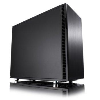 Кутия Fractal Design Define R6 USB-C Blackout, EATX/ATX/mATX/ITX, 1x USB 3.1 Type-C, черна, без захранване image