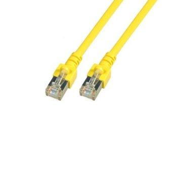 Пач кабел EFB Elektronik, FTP, Cat.5e, 7.5m, жълт image