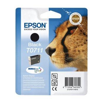 ГЛАВА ЗА EPSON D78/DX4000/DX4050/DX500DX5050/DX6000/DX6050/DX7000F - Black - P№ C13T071140 - заб.: 7.4ml. image