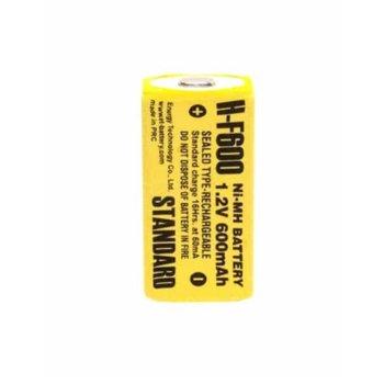 Акумулаторна батерия Energy Technology H-F600, 1.2V, 550mAh, NiMH, 1 бр. image
