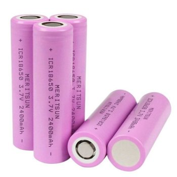 Акумулаторна батерия 04050301, 18650, 3.7V, 2400mAh, Li-Ion, 1 брой image