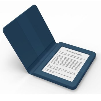 "Електронна книга Bookeen SAGA, 6""(15.24 cm) E-Ink Carta мултитъч дисплей, Wi-Fi, Cortex A8 1GHz процесор, 8GB Flash памет, micro USB 2.0, microSD слот, вграден жироскоп, синя image"