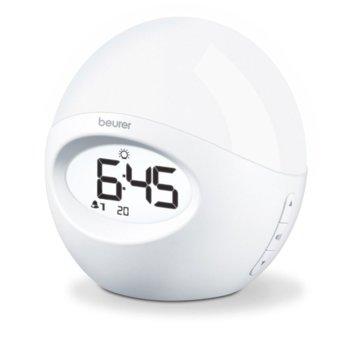 Часовник/Нощна лампа Beurer WL 32 58922, бял image