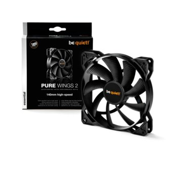 Вентилатор 140mm be quiet! Pure Wings 2, 3-pin, 1600 rpm image