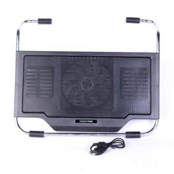 Cooler for laptop 2000 Black 17