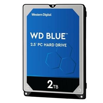 """Твърд диск 2TB WD Blue PC Mobile, SATA 6Gb/s, 5400 rpm, 128MB, 2.5"""" (6.35cm) image"""