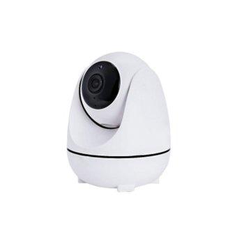 """Камера GatoCam, за система """"умен дом"""" за контрол в дома, безжична, 2.0Mpix(1960*1080), засича движение, вградени микрофон и говорител, 3 IR светодиода, Wi-FI, 3.6 мм обектив, вътрешна image"""