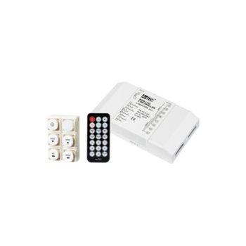 LED RGB контролер Actec LC-LT8905-SC-IR, 432W, 5-24V, 18A, триканален image