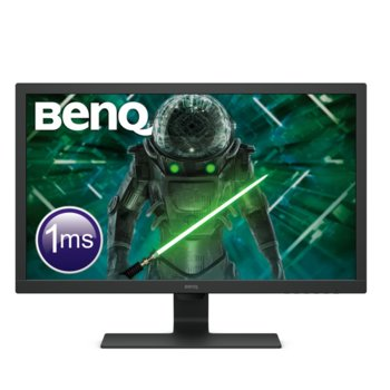 "Монитор BenQ GL2780 (9H.LJ6LB.QBE), 27"" (68.58 cm) TN панел, 75Hz, Full HD, 1ms, 12 000 000:1, 300cd/m2, DisplayPort, HDMI, DVI, VGA image"
