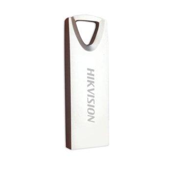 Памет 32GB USB Flash Drive, HikVision HS-USB-M200(STD)/32G/EN, USB 2.0, бял image