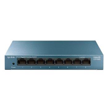 Суич TP-Link LS108G 8-портов 10/100/1000 Mbps product