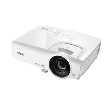 Проектор Vivitek DH268-EDU, DLP, 3D Ready, Full HD (1920x1080), 15000:1, 3500 lm, 2x HDMI, 2x VGA, USB, бял image