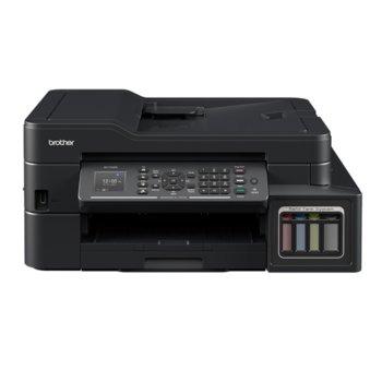 Мултифункционално мастиленоструйно устройство Brother MFC-T910DW, цветно, принтер/копир/скенер/факс, 1200 x 6000 dpi, 27стр/мин, Wi-Fi, USB, LAN, A4 image