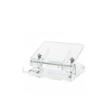 Перфоратор Wedo Acrylic Cristallic, прозрачен image