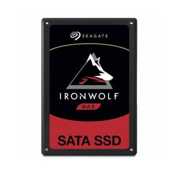 """Памет SSD 480GB Seagate IronWolf 110, SATA 6Gb/s, 2.5""""(6.35 cm), скорост на четене 560 MB/s, скорост на запис 535 MB/s image"""