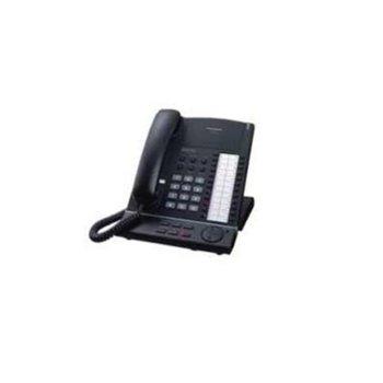 Стационарен телефон Panasonic KX-T7625CE, бутон за повторно набиране, високоговорител, черен image