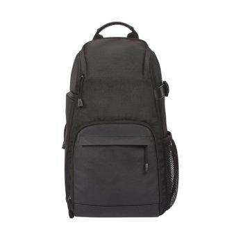 Раница за фотоапарат Canon BAG Sling SL100, за DSLR фотоапарати и аксесоари, полиестер, дъждобран, черна image