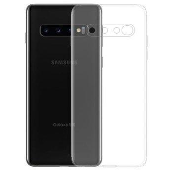 Калъф за Samsung Galaxy S10, силиконов гръб, силикон, прозрачен image