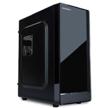Кутия VLine F01, Micro ATX, черна, с 450W захранване image