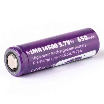 Акумулаторна батерия Efest IMR 14500, 3.7V, 650mAh, Li-ion, 1 брой image