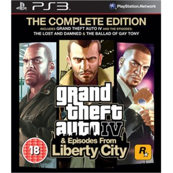 Grand Theft Auto IV Complete Edition product
