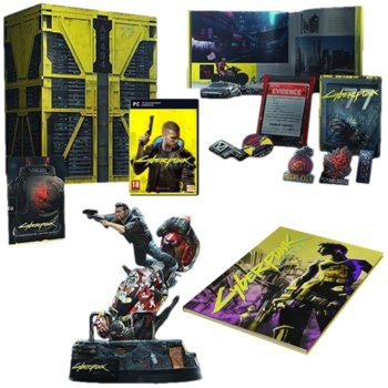 Игра Cyberpunk 2077 - Collector's Edition, за PC image