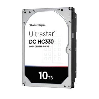 Твърд диск 10TB Western Digital Ultrastar DC HC330 (512e) SE, SAS 12Gb/s, 7200 rpm, 256MB кеш, 3.5 (8.89cm) image