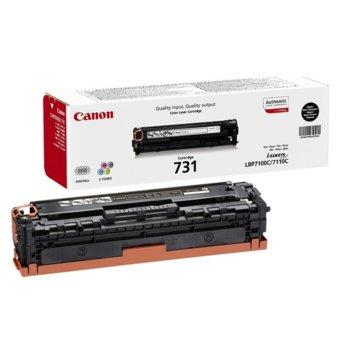 Касета за Canon i-Sensys LBP7100C/LBP7110C - Black - CRG-731BK - P№ 6272B002 - Заб.: 1 400k image