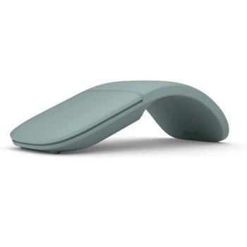 Мишка Microsoft Arc Sage ELG-00045, безжична, Bluetooth, зелена image
