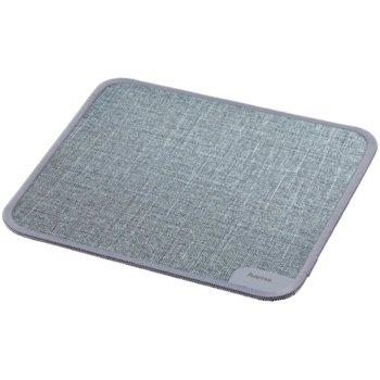Подложка за мишка Hama Textile Design, сива, 19 x 0.3 x 19cm image