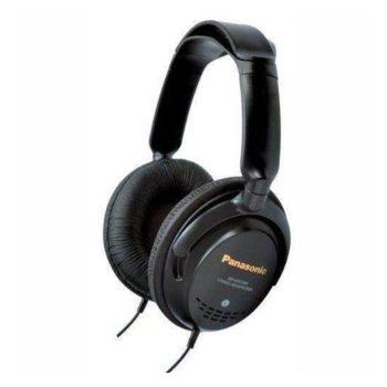 Слушалки Panasonic RP-HTF295E-K, затворен тип, черни image